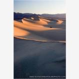 Sunrise on Death Valley Sand Dunes Stock Image, Death Valley, California
