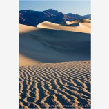 Dunes Light and Texture Stock Image, Death Valley, California
