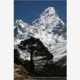 Ama Dablam Stock Image, Mt. Everest Region, Nepal