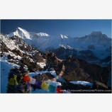Morning Sun On Gokyo Ri Stock Image, Mt. Everest Region, Nepal