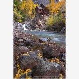 Crystal Mill Stock Image, Colorado