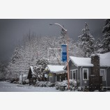 Snowy Down Town 7, Ashland, Oregon