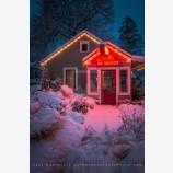 Snowy Down Town 21, Ashland, Oregon