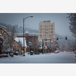 Snowy Down Town 26, Ashland, Oregon