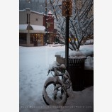 Snowy Down Town 27, Ashland, Oregon