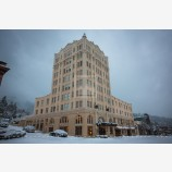 Snowy Down Town 28, Ashland, Oregon