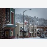 Snowy Down Town 30, Ashland, Oregon
