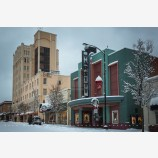 Snowy Down Town 31, Ashland, Oregon