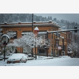 Snowy Down Town 32, Ashland, Oregon