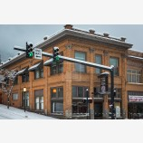 Snowy Down Town 33, Ashland, Oregon