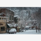 Snowy Down Town 35, Ashland, Oregon