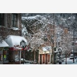 Snowy Down Town 36, Ashland, Oregon