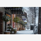 Snowy Down Town 37, Ashland, Oregon