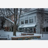 Snowy Down Town 40, Ashland, Oregon
