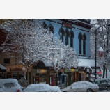 Snowy Down Town 41, Ashland, Oregon