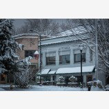 Snowy Down Town 43, Ashland, Oregon