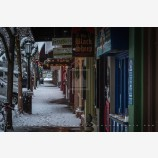 Snowy Down Town 45, Ashland, Oregon