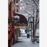 Snowy Down Town 46, Ashland, Oregon