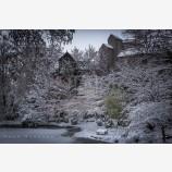 Snowy Down Town 54, Ashland, Oregon