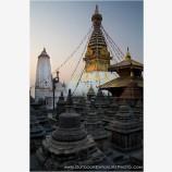 Swayambhunath Stock Image, Kathmandu, Nepal