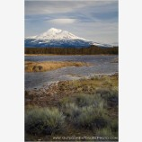 Tarn Below Mt. Shasta Stock Image, Mt. Shasta, California