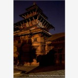 Durbar Square At Night Stock Image, Kathmandu, Nepal