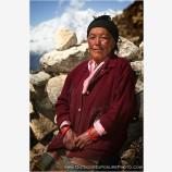 Sherpa Woman Stock Image, Kathmandu, Nepal