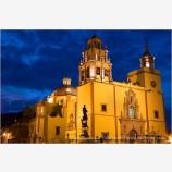 Basilica Nuestra Senora Stock Image, Guanajuato, Mexico