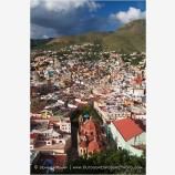 Above The Church Of San Diego Stock Image, Guanajuato, Mexico