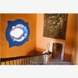 Hacienda Stairway Stock Image, Guanajuato, Mexico