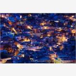 Guanajuato Illumination II Stock Image, Guanajuato, Mexico