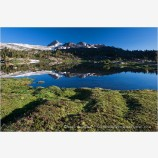Upper Sawmill Lake II Stock Image, Eastern Sierras, California