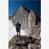 The North Ridge Of Mt. Conness Stock Image, Eastern Sierras, California