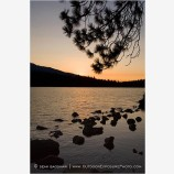 Sunset At Lake Of The Woods Stock Image, Ashland, Oregon