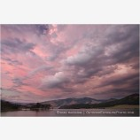 Dramatic Sky Over Emigrant Lake Stock Image, Ashland, Oregon