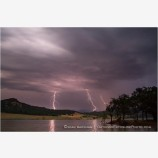 Lightning Storm At Emigrant Lake Stock Image Ashland, Oregon