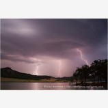 Lightning Storm At Emigrant Lake II Stock Image Ashland, Oregon