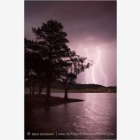 Lightning Storm At Emigrant Lake III Stock Image Ashland, Oregon