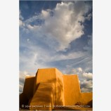 Church Of San Francisco in Taos Stock Image