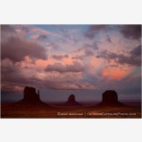Monument Valley Sunset Stock Image Navajo Tribal Park, Arizona