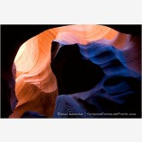 Windstone Colors Stock Image Antelope Canyon, Arizona