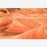 Sandstone Wave Stock Image Coyote Buttes, Arizona