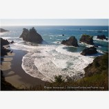 Rocky Shoreline 2 Stock Image Oregon Coast