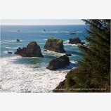 Rocky Shoreline 3 Stock Image Oregon Coast
