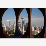 Seattle Skyline 3 Stock Image Washington