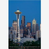 Seattle Skyline 5 Stock Image Washington
