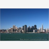 San Francisco Skyline Stock Image California