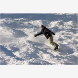 Snowboarder 1 Stock Image,