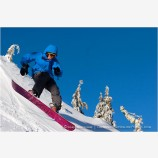 Snowboarder 2 Stock Image,