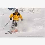 Skier 1 Stock Image,